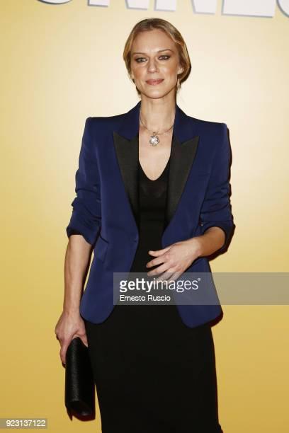 Antonia Liskova attends 'Sconnessi' premiere on February 22 2018 in Rome Italy