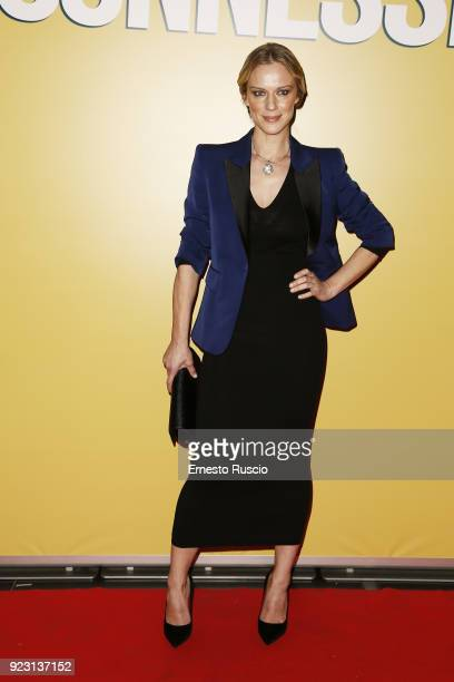 Antonia Liskova attends 'Sconnessi' premiere on February 22 2018 in Rome Italy