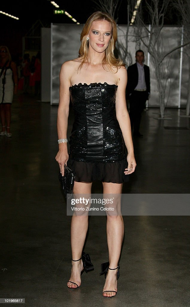 Antonia Liskova attends the 2010 Convivio held at Fiera Milano City on June 10, 2010 in Milan, Italy.