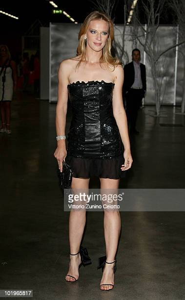 Antonia Liskova attends the 2010 Convivio held at Fiera Milano City on June 10 2010 in Milan Italy