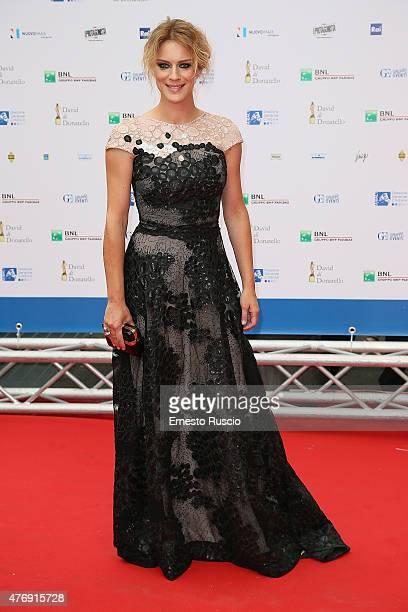 Antonia Liskova attends the '2015 David Di Donatello' Awards Ceremony at Teatro Olimpico on June 12 2015 in Rome Italy