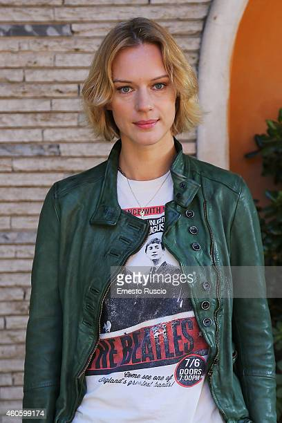 Antonia Liskova attends the 'Solo Per Amore' TV movie photocall at Mediaset Studios on December 17 2014 in Rome Italy