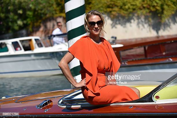 Antonia Liskova is seen during the 73rd Venice Film Festival on September 1 2016 in Venice Italy