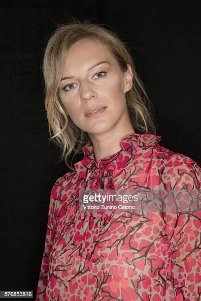Antonia Liskova poses on July 14 2016 in Giffoni Valle Piana Italy