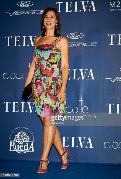 Antonia Martin madre de Carolina Marin attends Arts Sciences and Sports Telva Awards 2017 at Palau de Les Arts Reina Sofia on July 12 2017 in...
