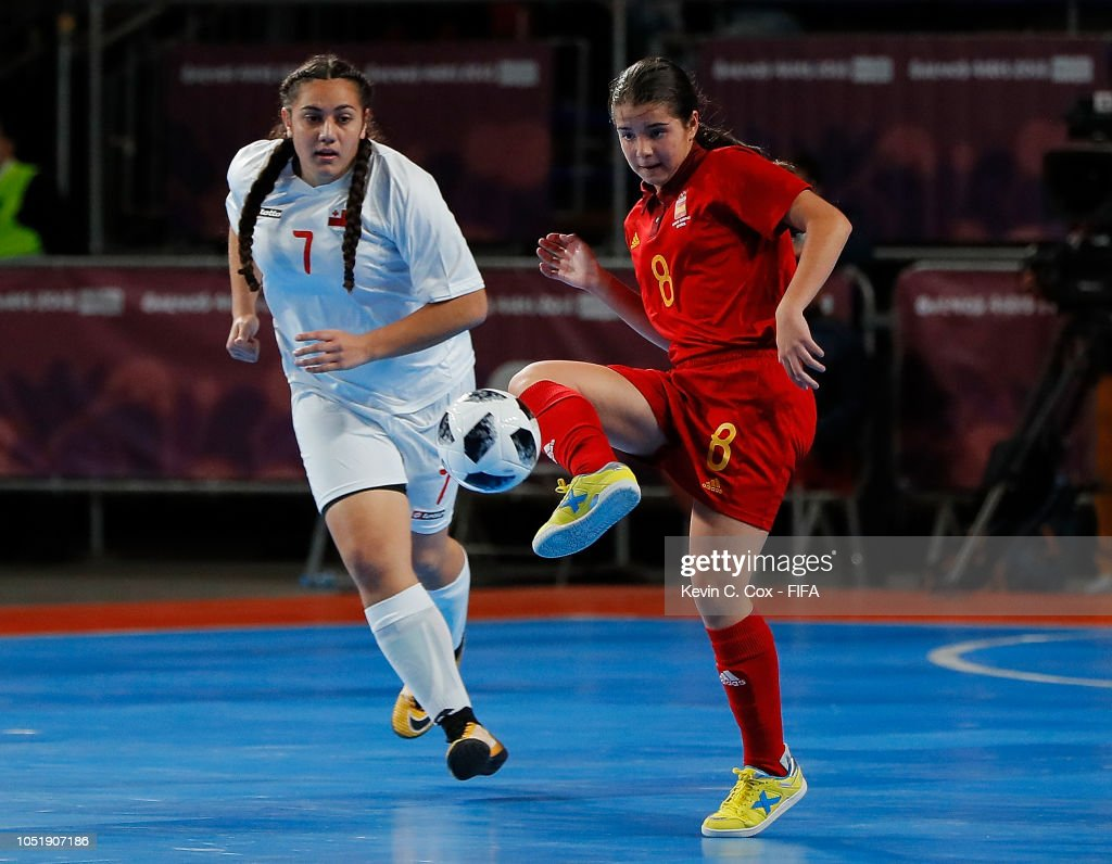 Tonga v Spain: Women's Futsal Buenos Aires Youth Olympics 2018 : Foto jornalística