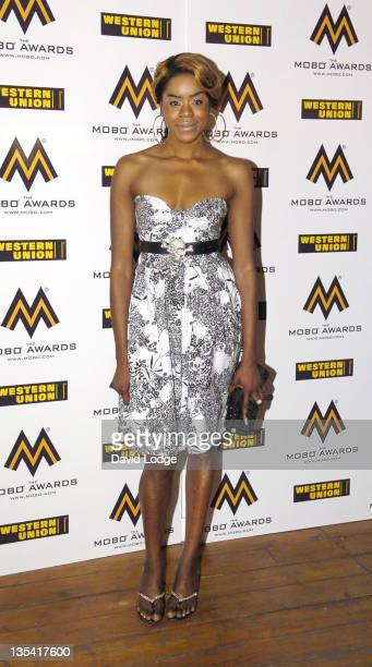 Antonia Okonma during 2006 MOBO Awards Nominations Outside Arrivals at Proud Gallery in London Great Britain