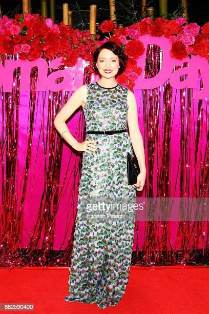 Antonia Prebble arrives ahead of the NZ TV Awards at Sky City on November 30 2017 in Auckland New Zealand