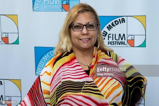Antonia Roman attends the 9th Annual New Media Film Festival at James Bridges Theater on June 16 2018 in Los Angeles California