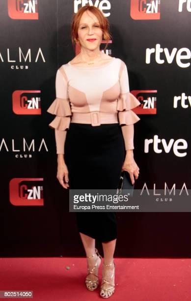 Antonia San Juan attends 'Corazon' TV Programme 20th Anniversary at Alma club on June 27 2017 in Madrid Spain