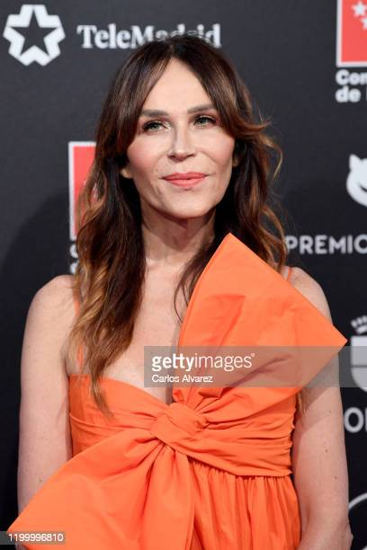 Antonia San Juan attends Feroz awards 2020 red carpet at Teatro Auditorio Ciudad de Alcobendas on January 16 2020 in Madrid Spain
