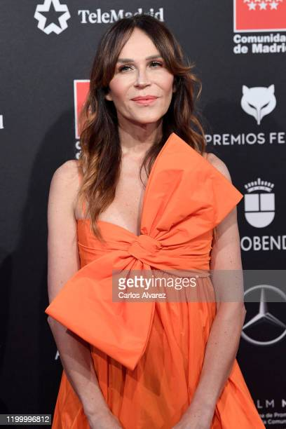 Antonia San Juan attends Feroz awards 2020 red carpet at Teatro Auditorio Ciudad de Alcobendas on January 16 2020 in Madrid Spain