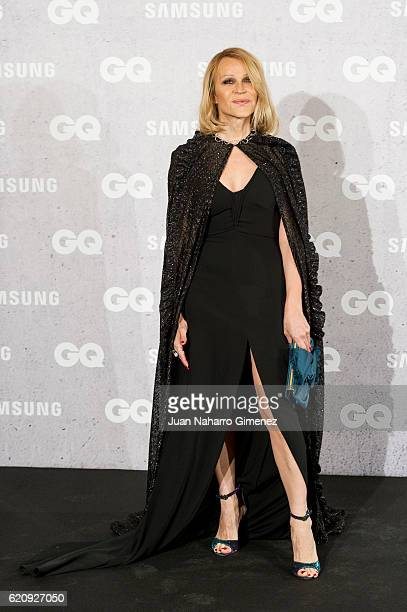 Antonia San Juan attends 'GQ Men Of The Year Awards 2016' photocall at Palace Hotel on November 3 2016 in Madrid Spain