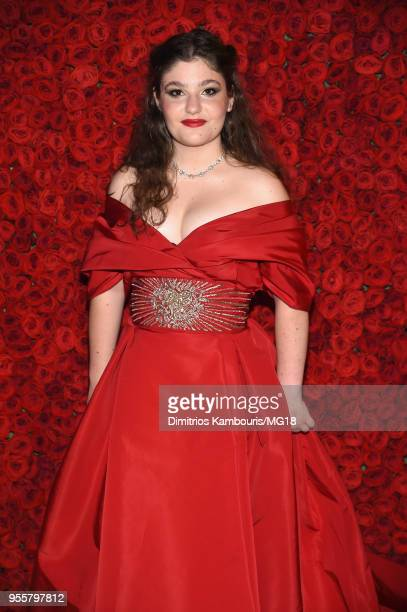 Antonia Steinberg attends the Heavenly Bodies Fashion The Catholic Imagination Costume Institute Gala at The Metropolitan Museum of Art on May 7 2018...