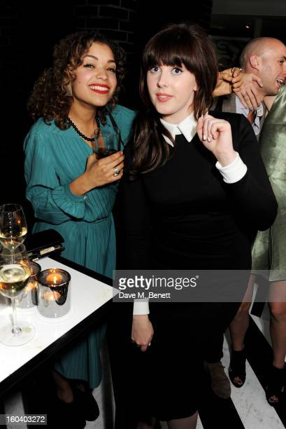 Antonia Thomas and Alexandra Roach attend the InStyle Best Of British Talent party in association with Lancome and Avenue 32 at Shoreditch House on...
