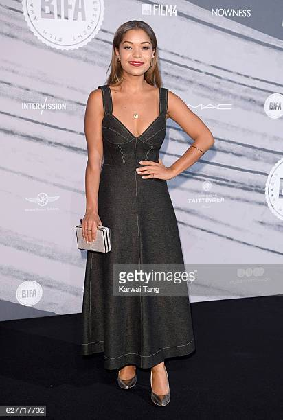 Antonia Thomas attends at The British Independent Film Awards at Old Billingsgate Market on December 4 2016 in London England