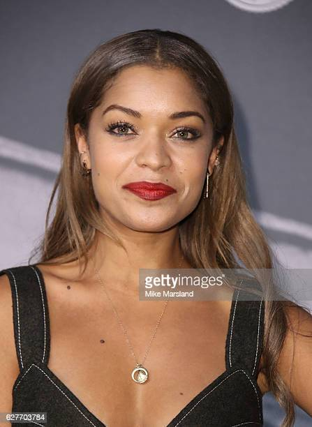 Antonia Thomas attends at The British Independent Film Awards Old Billingsgate Market on December 4 2016 in London England
