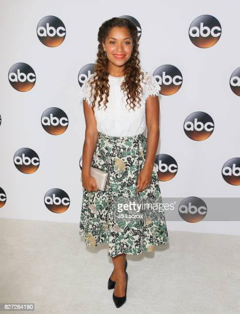 Antonia Thomas attends the 2017 Summer TCA Tour 'Disney ABC Television Group' on August 06 2017 in Los Angeles California