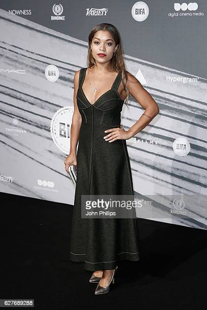 Antonia Thomas attends The British Independent Film Awards at Old Billingsgate Market on December 4 2016 in London England