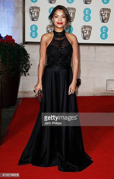 Antonia Thomas attends the official After Party Dinner for the EE British Academy Film Awards at The Grosvenor House Hotel on February 14 2016 in...