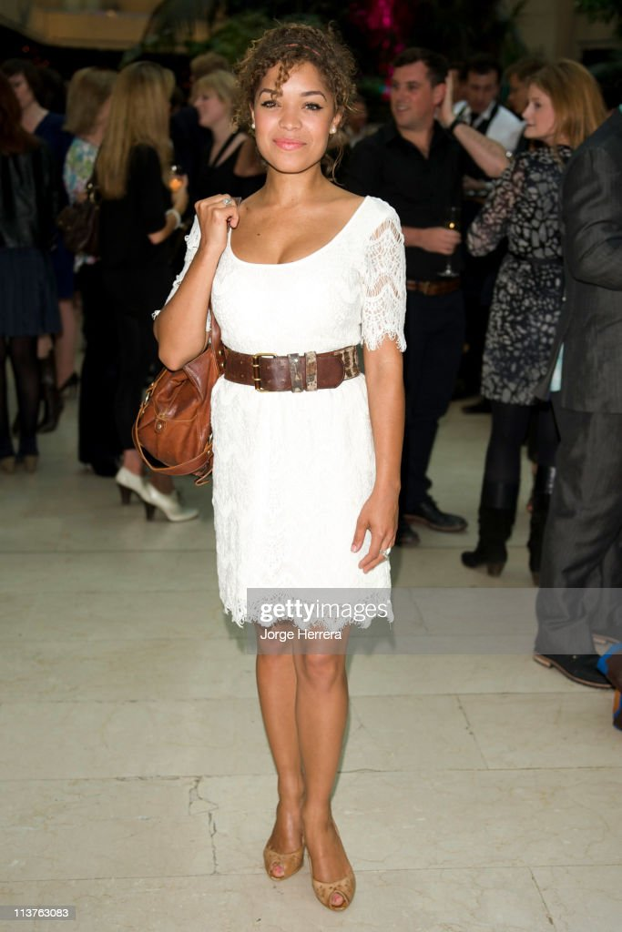 Antonia Thomas attends the The Philips British Academy Television Awards Nominees Party at Coutts Bank on May 5, 2011 in London, England.