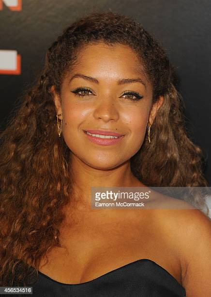Antonia Thomas attends the UK Gala screening of 'Northern Soul' at Curzon Soho on October 2 2014 in London England