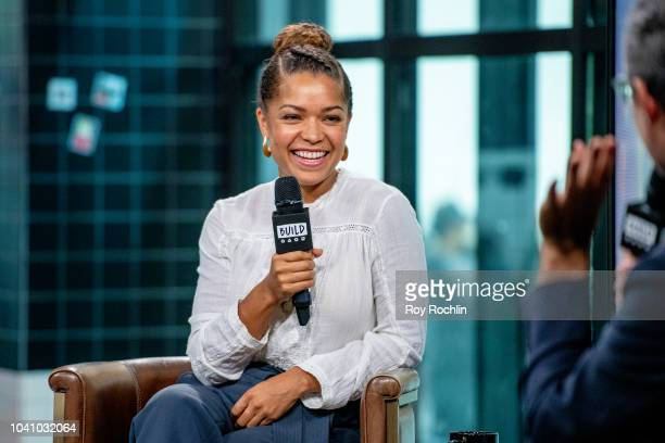 Antonia Thomas discusses 'The Good Doctor' with the Build Series at Build Studio on September 26 2018 in New York City