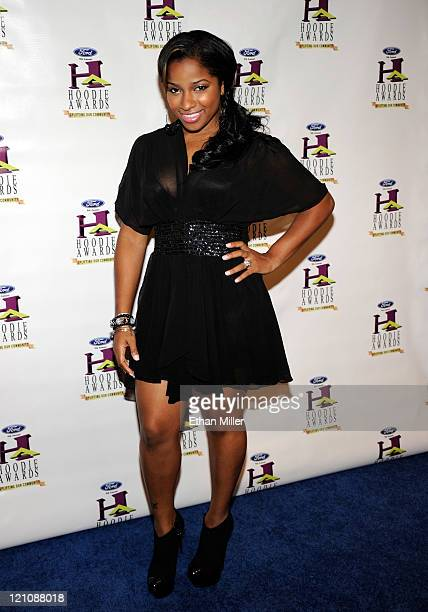 Antonia Toya Carter Wright arrives at the ninth annual Ford Hoodie Awards at the Mandalay Bay Events Center August 13 2011 in Las Vegas Nevada