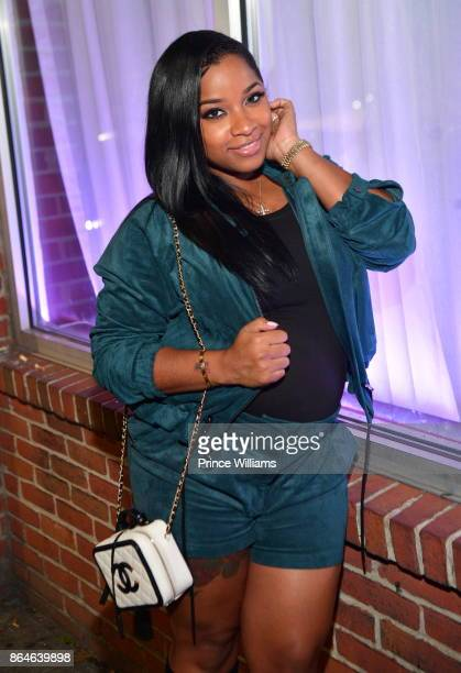 Antonia 'Toya' Wright attends Gabrielle Unions Book Tour After Party at Boogalou Lounge on October 20, 2017 in Atlanta, Georgia.