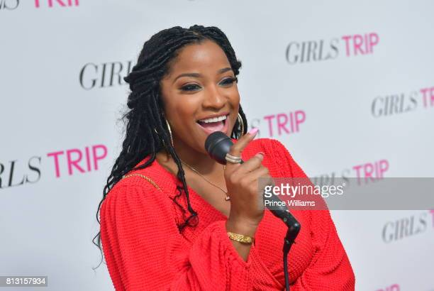 "Antonia ""Toya"" Wright attends ""Girls Trip"" atlanta Screening at SCADshow on July 11, 2017 in Atlanta, Georgia."