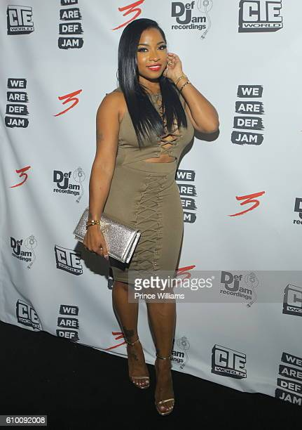 Antonia 'Toya' Wright attends the TD3 Reception Hosted By Def Jam at STK on September 17, 2016 in Atlanta, Georgia.