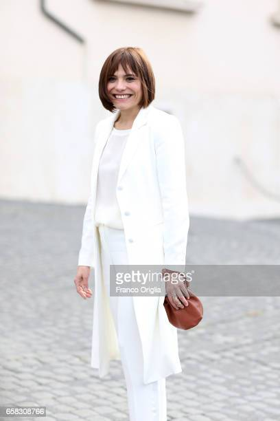 Antonia Truppo arrives at the 61 David Di Donatello nominees presentation at Palazzo del Quirinale on March 27 2017 in Rome Italy