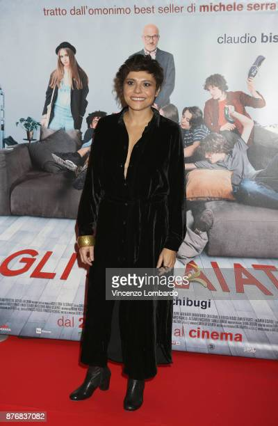 Antonia Truppo attends 'Gli Sdraiati' photocall on November 20 2017 in Milan Italy
