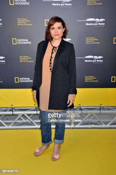 Antonia Truppo attends National Geographic's 'Genius Einstein' photocall on May 10 2017 in Rome Italy
