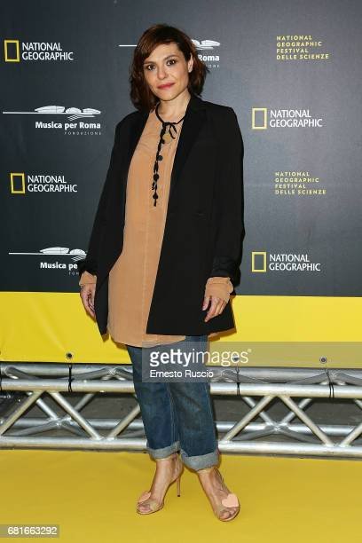 Antonia Truppo attends National Geographic's 'Genius Einstein' photocall at Auditorium Parco della Musica on May 10 2017 in Rome Italy