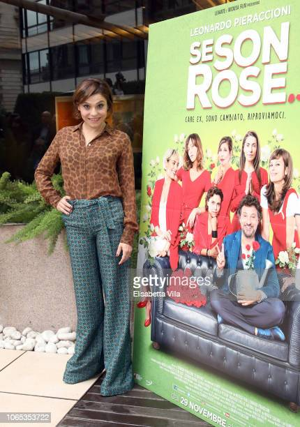 Antonia Truppo attends the Se Son Rose photocall at Visconti Hotel on November 26 2018 in Rome Italy