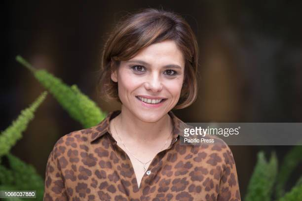 Antonia Truppo during the photocall of the Italian film 'Se Son Rose' at the Visconti Palace Hotel