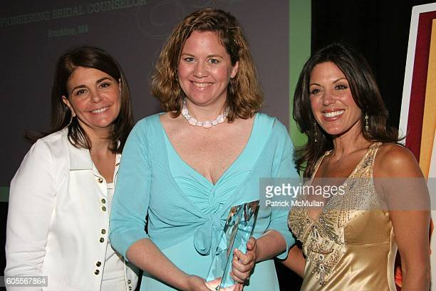 """Antonia van der Meer, Alison Moir-Smith and Constance Ramos attend Modern Bride's """"25 Trendsetters of 2006"""" Awards Dinner at The Ritz-Carlton on May..."""