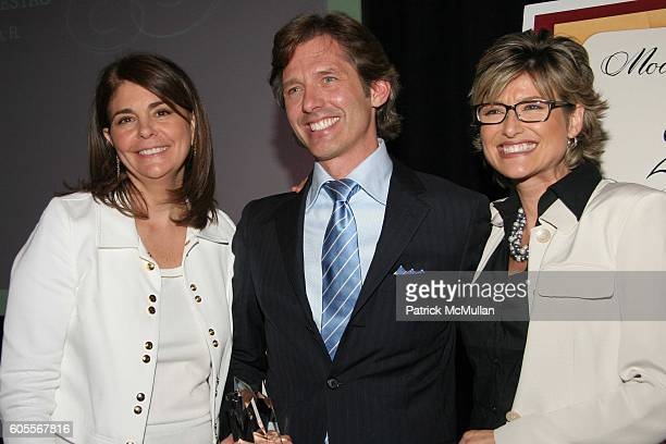 """Antonia van der Meer, Bryan Rafanelli and Ashleigh Banfield attend Modern Bride's """"25 Trendsetters of 2006"""" Awards Dinner at The Ritz-Carlton on May..."""