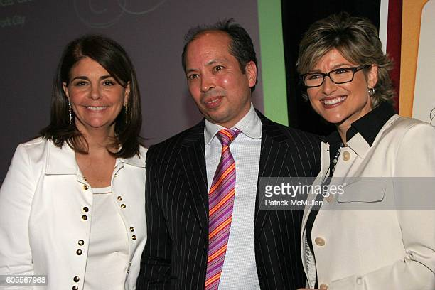 """Antonia van der Meer, Olivier Cheng and Ashleigh Banfield attend Modern Bride's """"25 Trendsetters of 2006"""" Awards Dinner at The Ritz-Carlton on May..."""