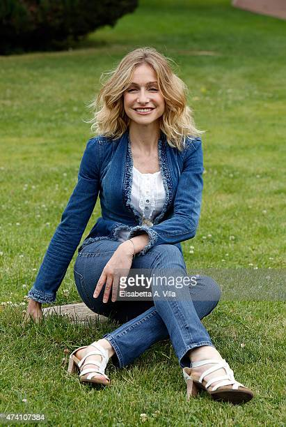 Antonia Varini attends 'Uno Mattina Estate' Tv Show photocall at RAI on May 20 2015 in Rome Italy