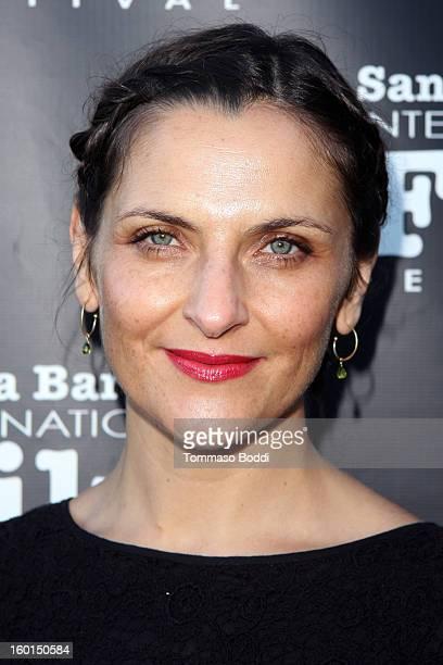 Antonia Zegers attends the 28th Santa Barbara International Film Festival 'No' premiere held at Lobero Theatre on January 26 2013 in Santa Barbara...