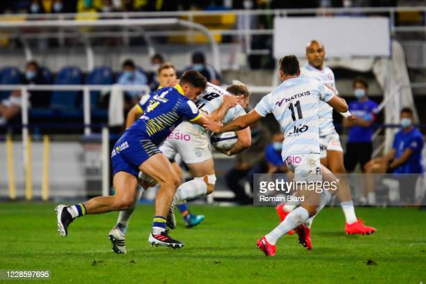 Antonie CLAASSEN of Racing92 during the Quarter-Final Champions Cup match between Clermont and Racing92 at Stade Marcel Michelin on September 19,...