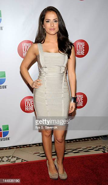 Antonietta Collins attends the Univision Upfront 2012 reception at Cipriani 42nd Street on May 15 2012 in New York City
