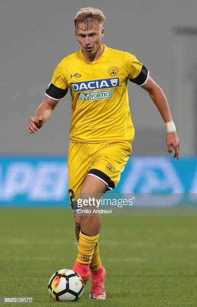 Antonin Barak of Udinese Calcio in action during the Serie A match between US Sassuolo and Udinese Calcio at Mapei Stadium Citta' del Tricolore on...