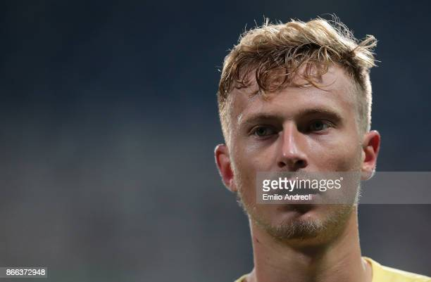 Antonin Barak of Udinese Calcio looks on during the Serie A match between US Sassuolo and Udinese Calcio at Mapei Stadium Citta' del Tricolore on...