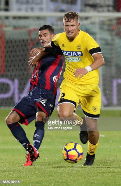 Antonin Barak of Udinese during the Serie A match between FC Crotone and Udinese Calcio at Stadio Comunale Ezio Scida on December 4 2017 in Crotone...