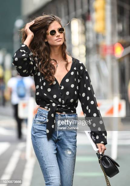 Antonina Petkovic attends the casting for the 2018 Victoria's Secret Show in Midtown on September 4 2018 in New York City