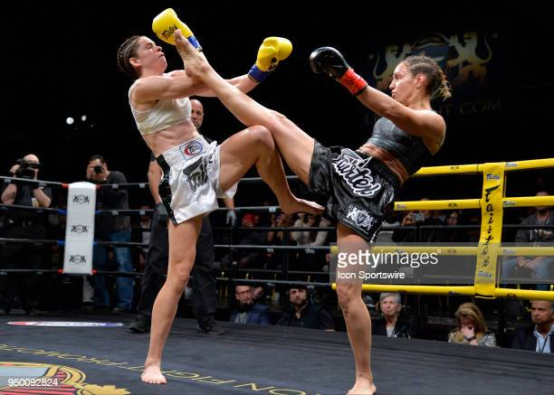 Antonina Shevchenko lands a kick on Claire Baxter Antonina Shevchenko takes on Claire Baxter in a Womens Super Lightweight Title bout on April 21...