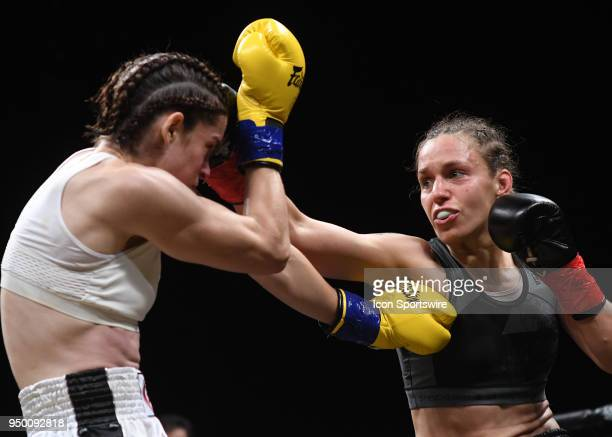 Antonina Shevchenko lands a strike on Claire Baxter Antonina Shevchenko takes on Claire Baxter in a Womens Super Lightweight Title bout on April 21...